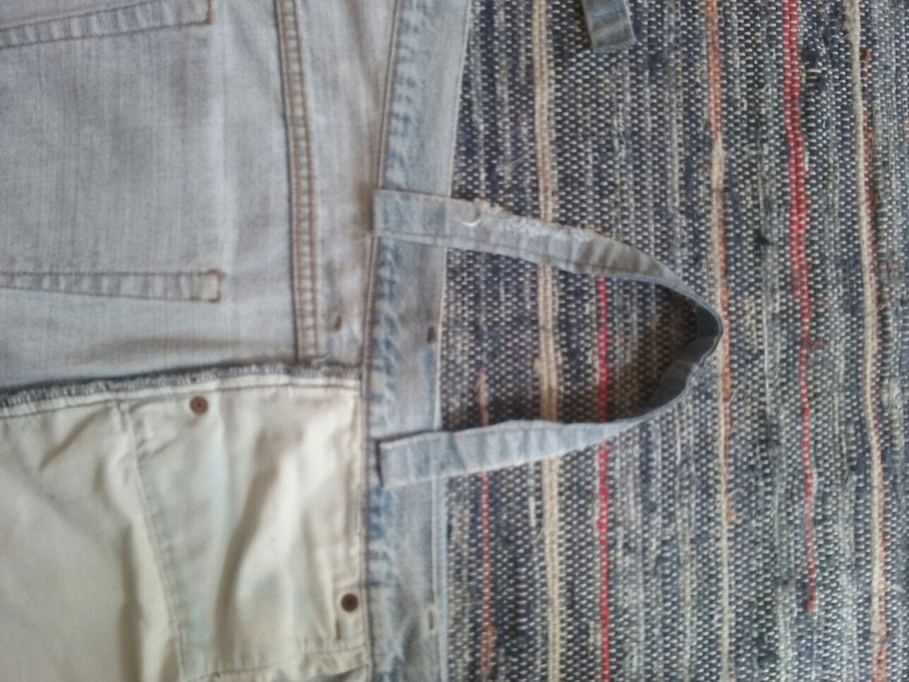 13-alsas Passo a passo - upcycling de calças de ganga