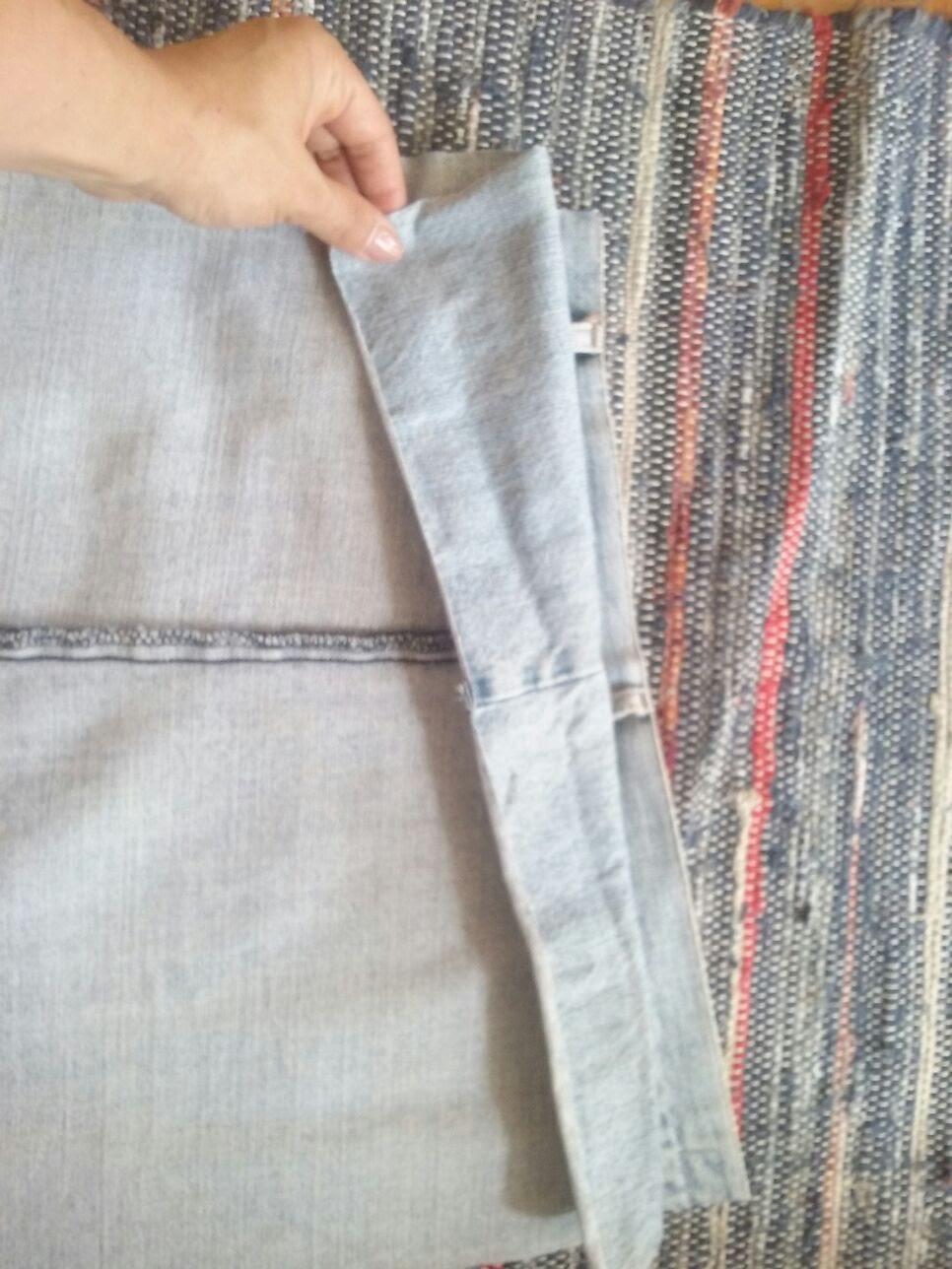 6-acertar_costuras Passo a passo - upcycling de calças de ganga