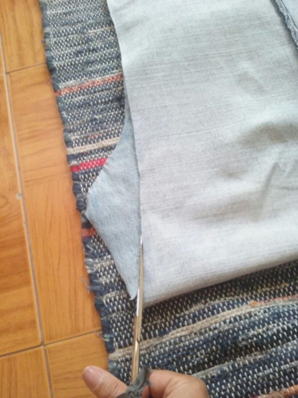 7-acertar_laterais Passo a passo - upcycling de calças de ganga