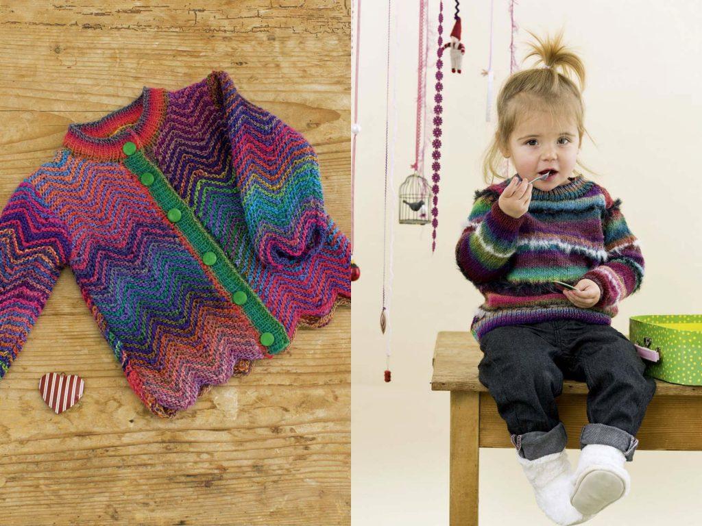 Lang-Yarns-crianças-1024x768 Tricotar com Lã de Meia